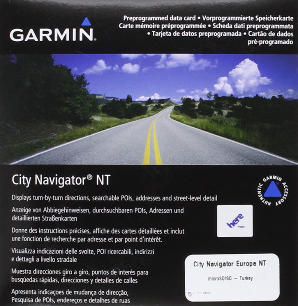 Garmin City Navigator - Tarjeta microSD y SD con mapas de Turquía: Amazon.es: Electrónica