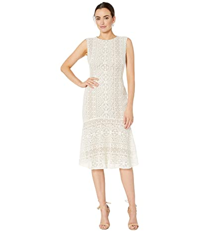 LAUREN Ralph Lauren Banzia Dress (White) Women