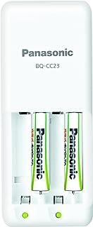 パナソニック 充電式エボルタ 急速充電器セット 単4形充電池 2本付き スタンダードモデル K-KJ23MLE02