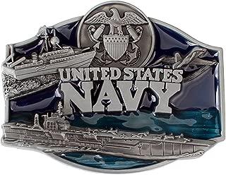 IPOTCH Navy Belt Buckle For Men Cowboy Waist Strap Belt Ornament