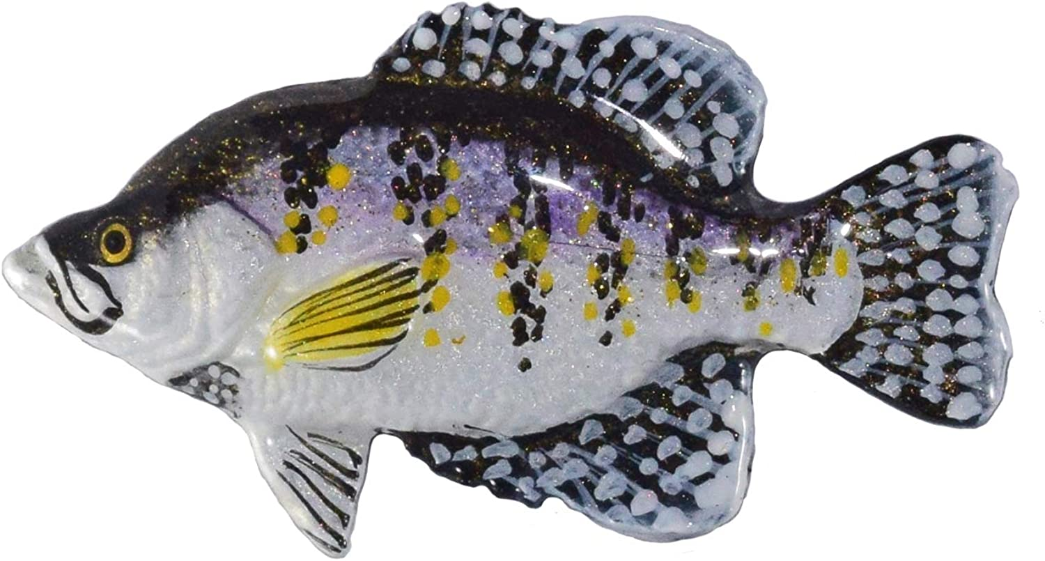 Creative Pewter Designs White Crappie Handcrafted All stores are Super sale sold Fi Freshwater