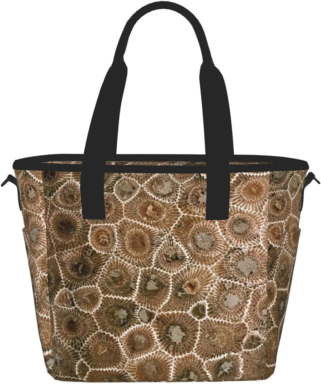 Petoskey Stoneprinting Women'S sold Limited Special Price out Lunch Bag B Fashion Meal Portable