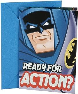 Hallmark Birthday Card for Kids (Batman)