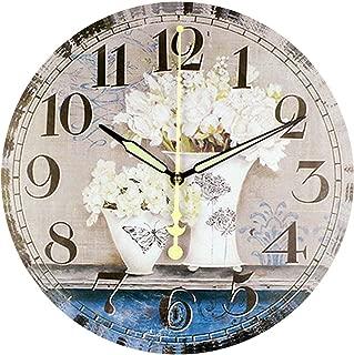 Fashion Nice Butterfly Clock Home Decoration Silent Wall Clock Modern Design,G19,14inch 35cm