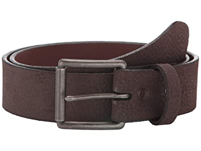 Torino Leather Co. 38 mm Antique Pebble Suede (Brown) Men