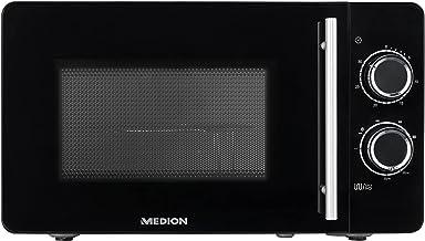 MEDION Micro-ondes 2en1 avec grill (20litres, 700watts, grill 800watts, 5niveaux de puissance, 3réglages combinés, ...