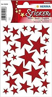 Herma 15099 Çocuk Etiketleri, Kırmızı Yıldız