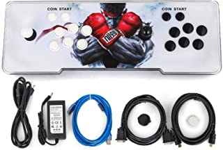 Happybuy 1500 Classic Arcade Game Machine 2 Players Pandoras Box 9s 1280x720 Full HD Video Game Console with Arcade Joystick Support HDMI VGA Output (Black&White)