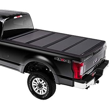 "BAK BAKFlip MX4 Hard Folding Truck Bed Tonneau Cover | 448330 | Fits 2017-20 Ford Super Duty 6'9"" Bed, Premium Matte Finish"