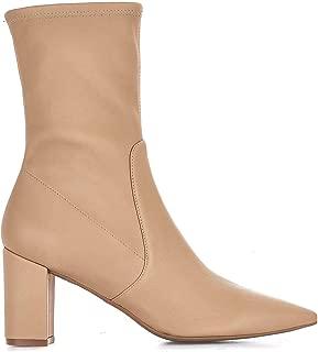 STUART WEITZMAN Luxury Fashion Womens LANDRY75ADOBE Beige Ankle Boots | Fall Winter 19
