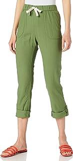 ROXY Women's On The Seashore-Linen Cargo Trousers Pants