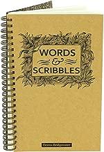 Emma Bridgewater Black Scroll Slim Spiral Notebook