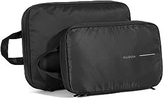 旅行便利グッズ 衣類圧縮袋 トラベルポーチ ファスナー圧縮で衣類スペース58%節約 軽量 出張 簡単圧縮 1年品质保証