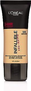 L'Oreal Paris Cosmetics Infallible Pro-Matte Foundation Makeup, Natural Beige, 1 Fluid Ounce by L'Oreal Paris