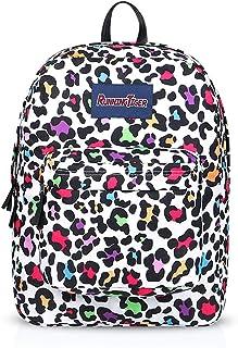 Nuevo Mochila Mochilas Tipo Casual Bolsas Escolares Niña Niño Bolsa de Viaje Bolsos de Mujer Adolescente Backpack School Bag Outdoor Viaje Infantiles Daypack Impermeable Poliéster Leopardo