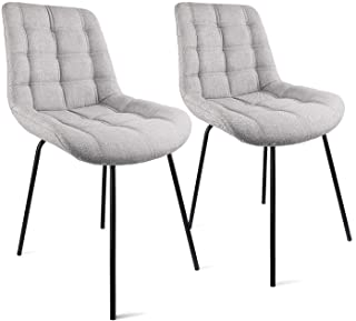 Dining Chairs Set of 2, Mid-Century Modern Dining Room...