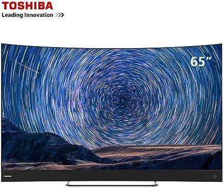 TOSHIBA 东芝 65U9700C 65英寸 量子点曲面超薄4K超高清AI人工智能电视(亚马逊自营商品, 由供应商配送)