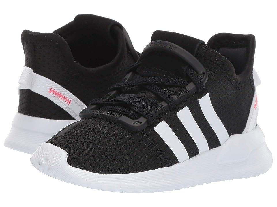 adidas Originals Kids U_Path Run EL I (Toddler) (Black/White/Shock Red) Kids Shoes