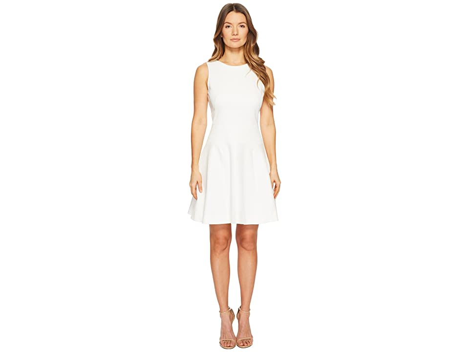 Paul Smith Flared Knit Dress (Off-White) Women