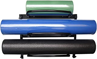 AGM Group AeroMat Foam Roller Racks Holds 3 Rollers,  24 in L x 10 in H x 20 in H