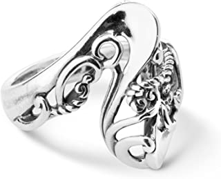 Carolyn Pollack Sterling Silver Wave Ring Size 5 to 10