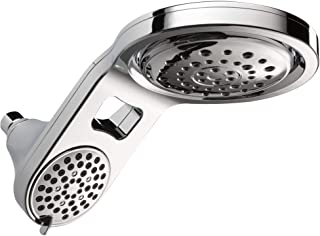 Delta Faucet 75598C HydroRain Two-in-One Shower Head, Chrome