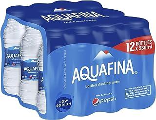 Aquafina Bottled Drinking Water, 12 x 330 ml