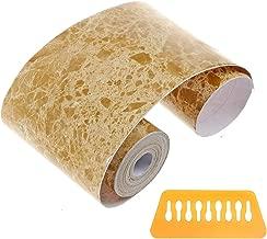 Penck Waterproof Wallpaper Border Roll Peel & Stick PVC Self-Adhesive Wall Borders Skirting Waist Line Border Sticker for Covering Kitchen Bathroom Tiles Decor, Easy to Apply, 12cm x 10m