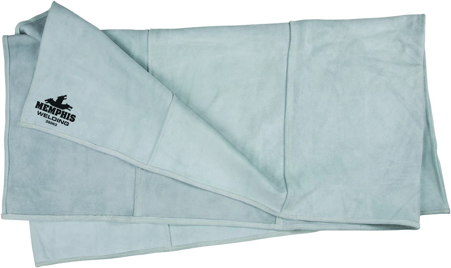 MCR Safety 38063 Heavy Side-Split Leather Gray Ranking TOP7 Blanket low-pricing Welding