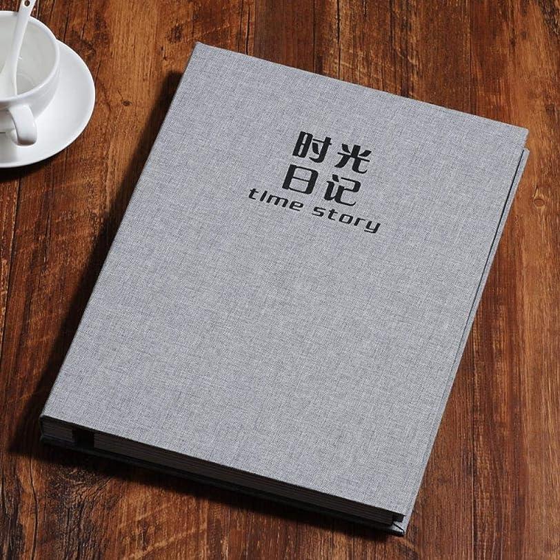 プラカード数開いたPhoto Album Picture Storage Scrapbooking Picture Case Photo Album Frame Family, b