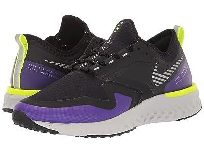 Nike Odyssey React 2 Shield (Black/Metallic Silver/Voltage Purple) Women