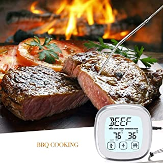 MeButiko Food Thermometer Electronic Timing Multifunctional Barbecue Thermomete,Practical Household Items, Portable Products