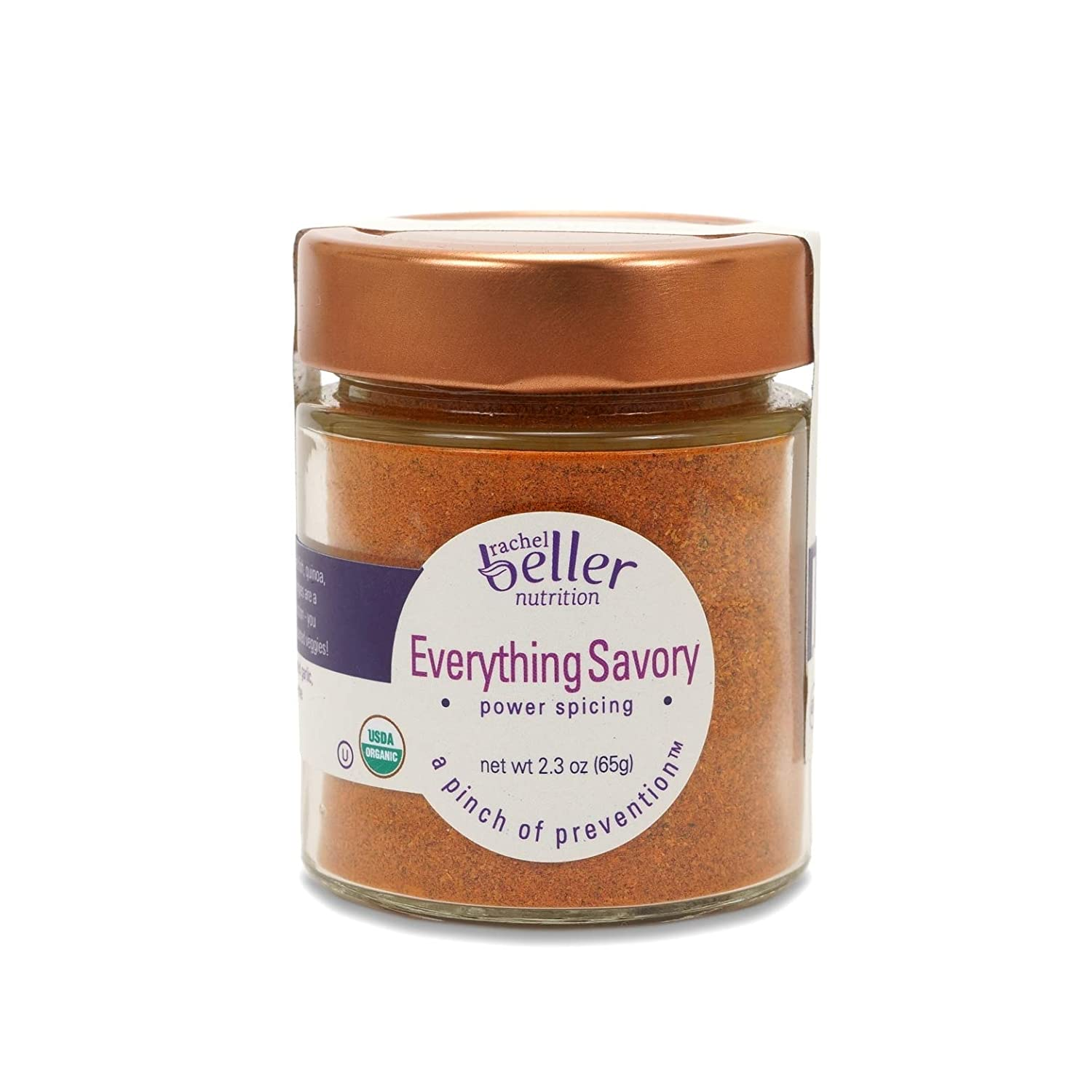 New life Rachel Beller Nutrition Power Spicing 2.3 EVERYTHING SAVORY - 4 years warranty