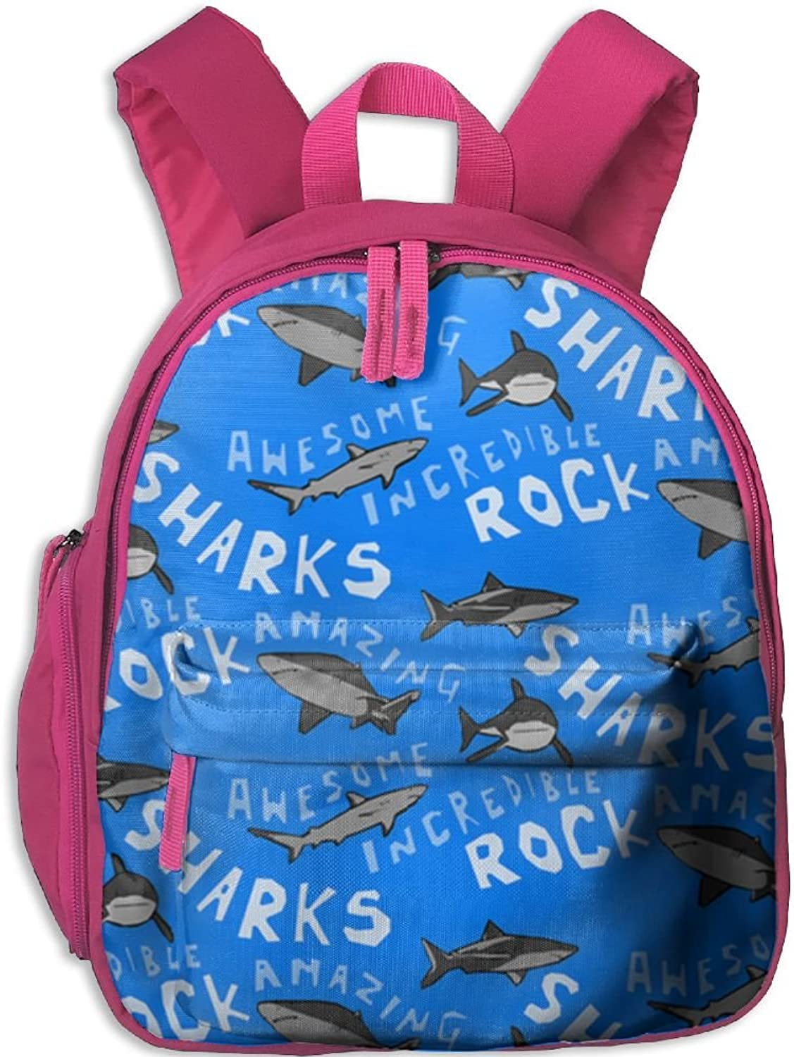 Pinta Sharks Play Cub Cool School Book Bag Backpacks for Girl's Boy's