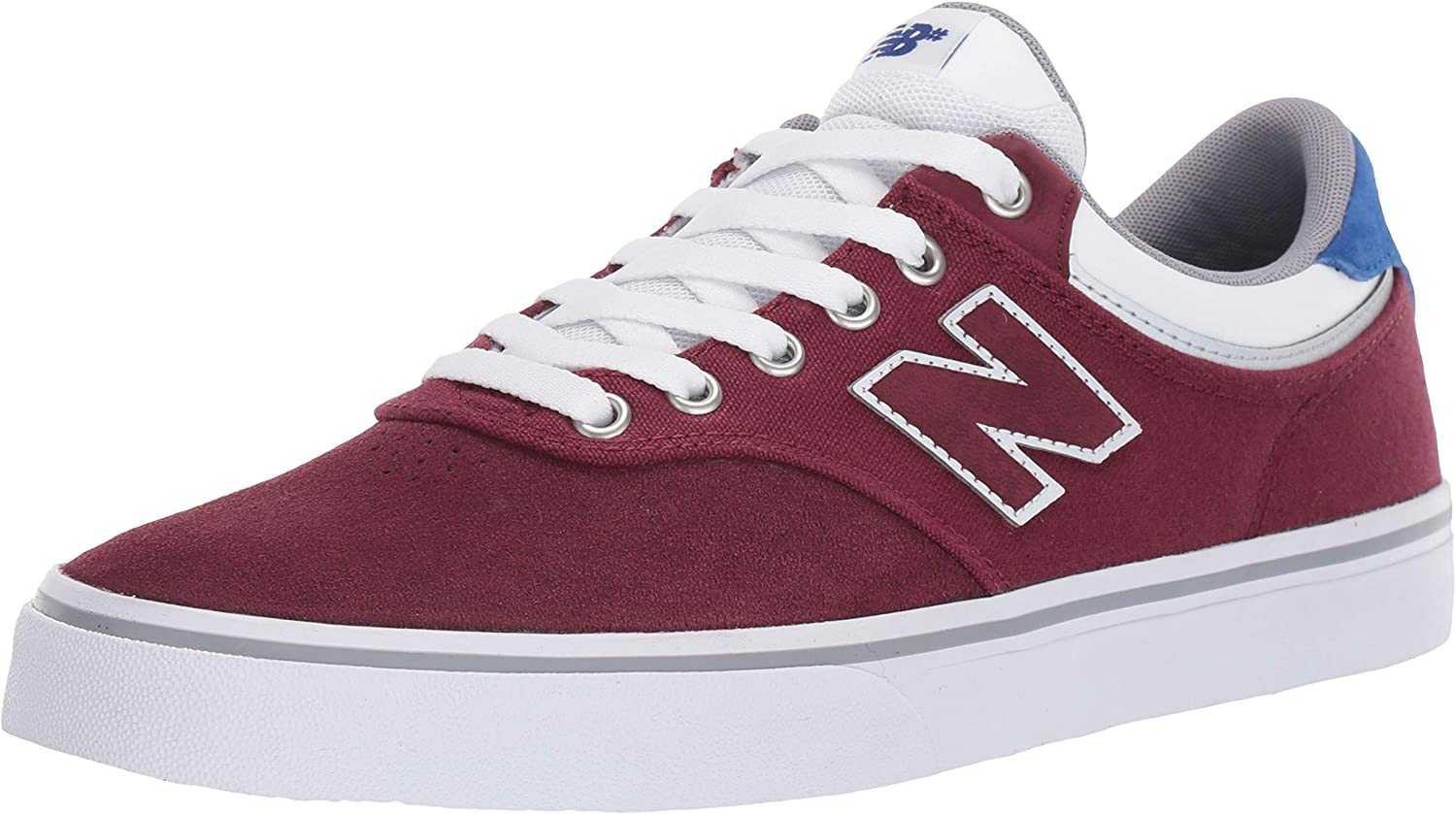 New Balance 255 Burgundy Royal bluee White