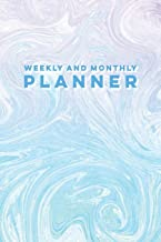 Weekly and Monthly Planner: 12-Month, Undated Day Planner & Agenda Organizer for Women, Men, Teens, Girls & Boys with Lined Daily Calendars & Monthly ... Journals for Creative Writing and Planning)