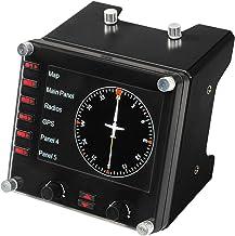 Logitech G Saitek Pro Flight Instrument Panel - Zwart