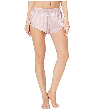 DKNY Intimates Satin Tap Pants (Blossom/Silver Lurex) Women