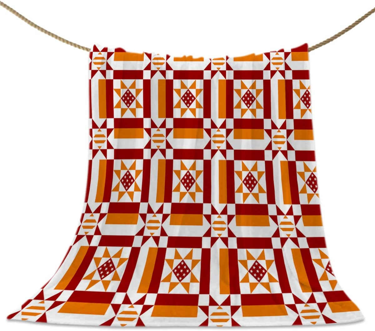 Special sale item HELLOWINK Throw Blankets for Couch Bed Geometric S It is very popular Vintage Sofa
