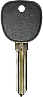 qualitykeylessplus Replacement Transponder Chip Key Circle Plus B111PT for GM Vehicles with Free KEYTAG
