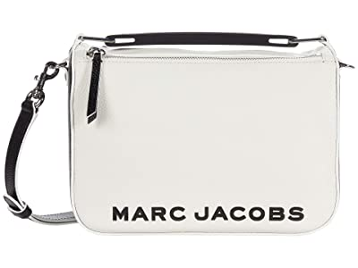 Marc Jacobs The Soft Box Color-Blocked 23 Crossbody (Cotton Multi) Handbags