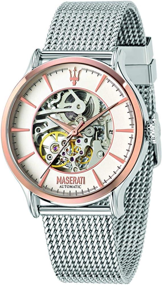 Maserati orologio automatico uomo acciaio inossidabile R8823118004