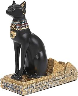 Bonito regalo ワインホルダー ボトルホルダー エジプト 猫神モチーフ ワインラック