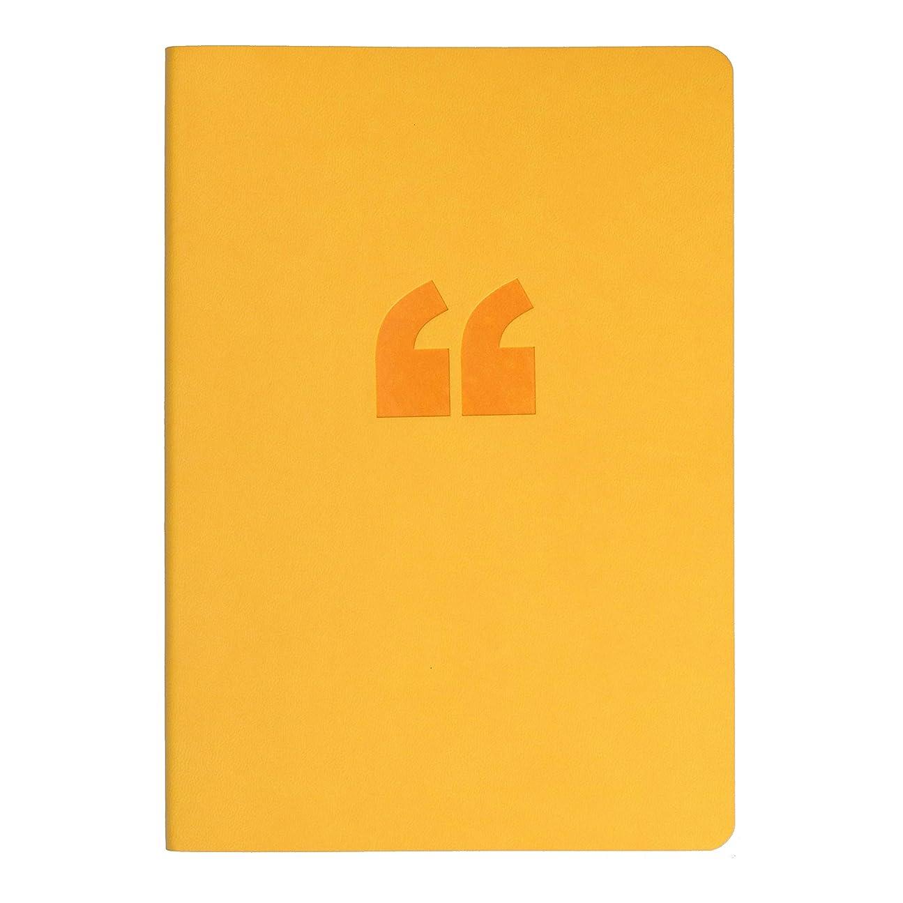 マーチャンダイザー示すジョージスティーブンソンコリンズ ノート A5 横罫 エッジ 黄 ED15R45