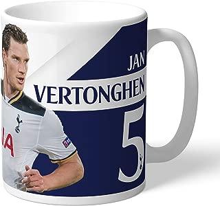 Tottenham Hotspur Official Personalized Vertonghen Autograph Mug - Free Personalisation