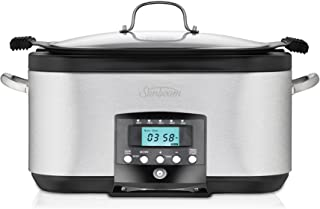 Sunbeam HP8555 SecretChef Electronic Sear & Slow Cooker | 5.5L (6-8 People) | Frypan & Slow Cooking Modes | Countdown Time...