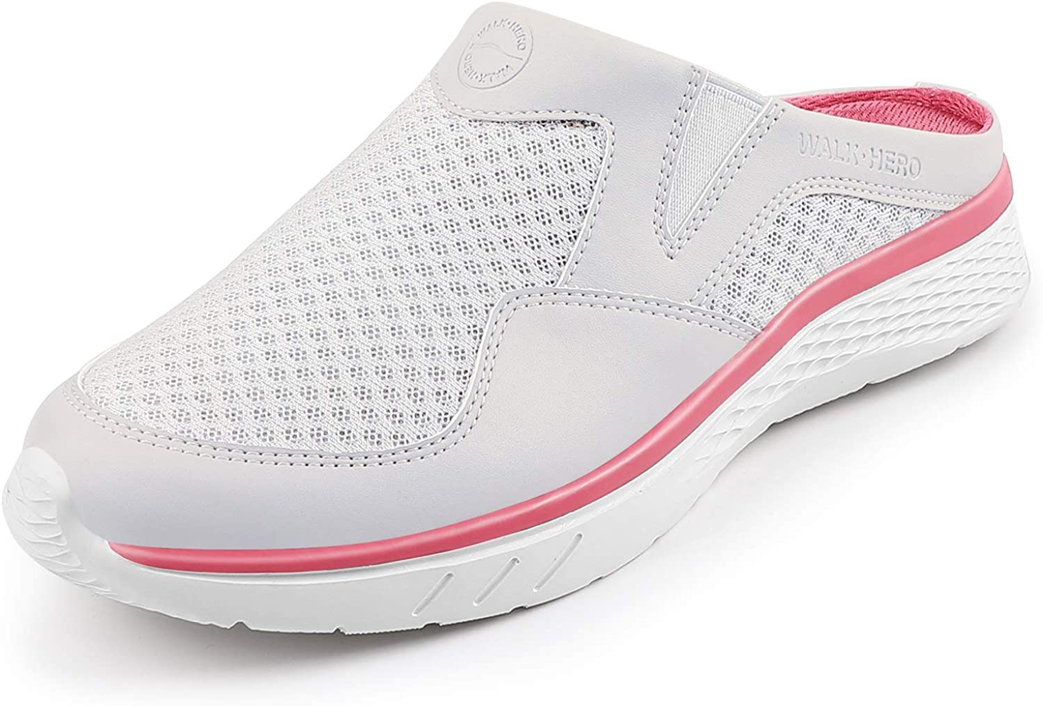 Womens Mule Sneakers - Walking Shoes 70% OFF Outlet Women Discount mail order for Arch Support with