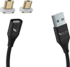 VOLTA Charger 2.0 Cable Set - 5A, Quick Charge 3.0, Oppo VOOC Flash Charge, Magnetic Universal Cable