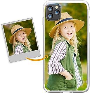 Oihxse Funda Personalizada de Telefono Compatible con iPhone XR 6.1'' Carcasa Silicona TPU Bumper Suave Imagen o Texto Per...