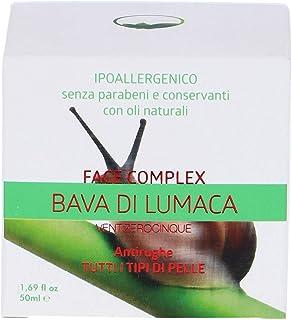 Face Complex - Crema para el rostro cuerpo de Baba de caracol - Anti-arrugas